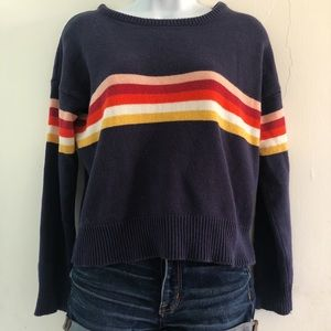 TILLYS Chest Stripes Sweater